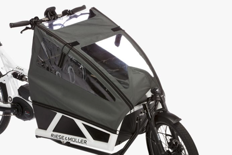 Riese & Müller Load E-bike child cover