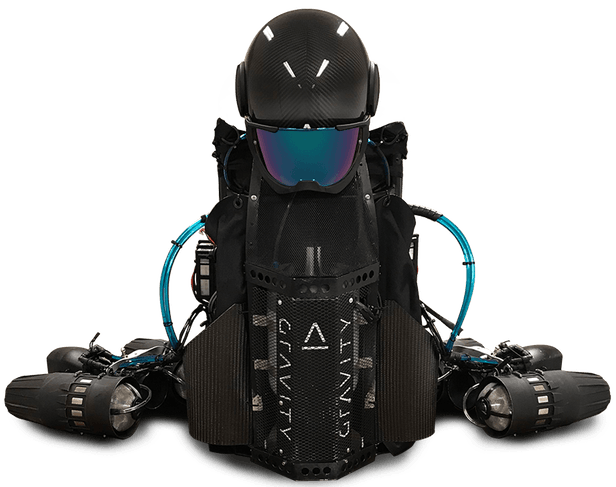 Gravity Suit without rider