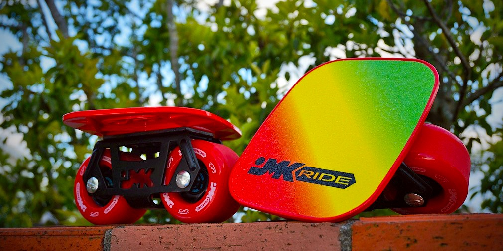 red yellow green jmk freeline skates