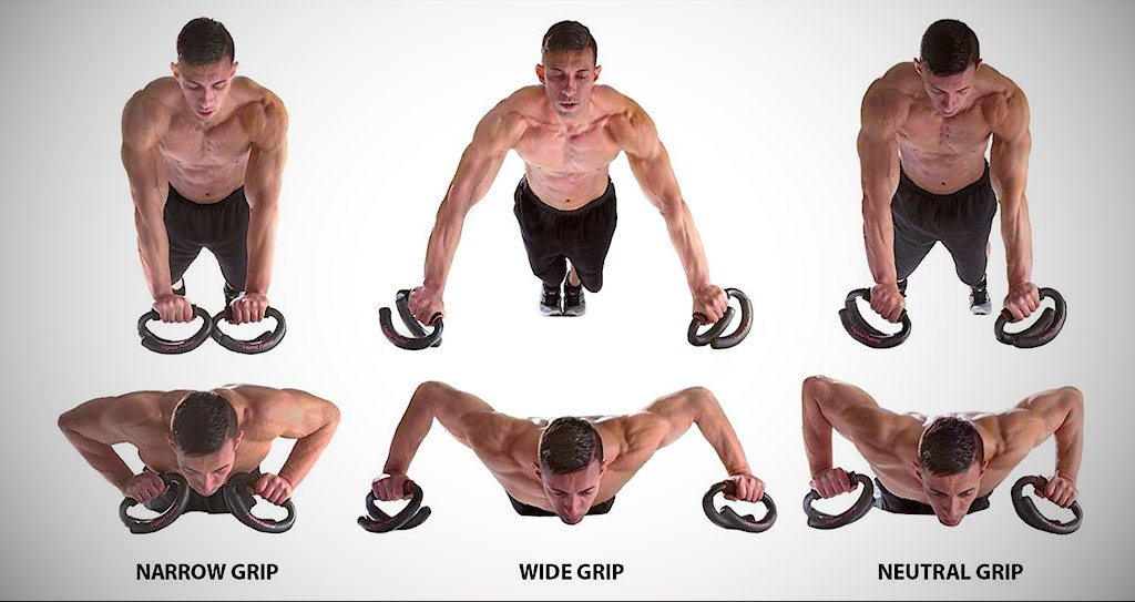 Different push-up varieties